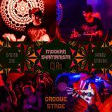 CJ Art @ Modern Shamanism (Szpitalna 1 - Krakow) - Groove Stage [12.10.2018]