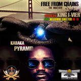 KABAKA PYRAMID - FREE FROM CHAINS MIXTAPE - JAH WARRIOR SHELTER HI-FI
