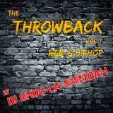 """The Throwback Vol.1 """"R&B & HipHop"""" by Shug La Sheedah"""