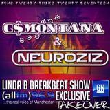G$Montana & NeuroziZ B2B For 2 Hours The GN Takeover Show For The Linda B Breakbeat Show 96.9 ALLFM