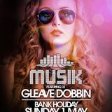 Musik Bank Holiday Special @ Thompsons feat Gleave 1-5-16