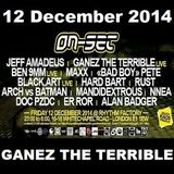 ON-SET London 12/12/14 Promo Mix – GANEZ THE TERRIBLE