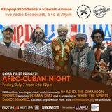 Live with Afropop Worldwide: Afro-Cuban Night at The Bronx Museum—July 7, 2017