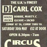 Carl Cox - Circus Circus - Side A 1993