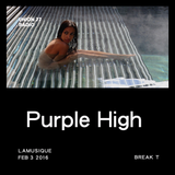 Purple High @ UNION 77 RADIO 3.02.2016 'Break T'