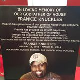 A Tribute to the Legend/Godfather Of House the late great Mr Frankie Knuckles.