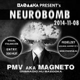 PMV LIVE @ Szolnok, Fedélzet - baZOOka pres Neurobomb 2014-11-08