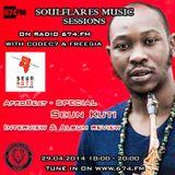 soulflares music @674FM  -  afrobeat & seun kuti special - 29-04-2014