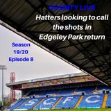 2019/2020 season #8 Hatters looking to call the shots in Edgeley Park return