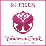 DJ Freem - Tomorrowland WarmUp Radio Show (27.07.13)
