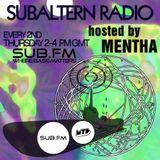 Mentha - Subaltern Radio 04/09/2014 on SUB.FM