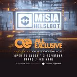 Misja Helsloot - Quest4Trance, All Exclusive OTC (02/11/2018)
