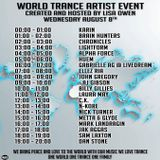 Nick Turner Guest Mix Lisa Owen World Trance Artist Event 2018