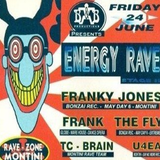 """Energy Rave"" at Rave-Zone Montini (Sint-Truiden - Belgium) - 24 June 1994"