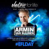 Armin Van Buuren @Electric for life day 27 nov 2015