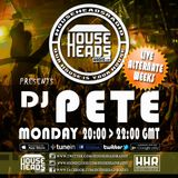 Dj Pete live on house heads radio (with a little over spill )20/03/2017