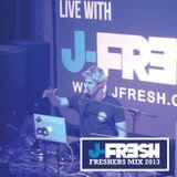 J Fresh Freshers Mix 2013 - 2014