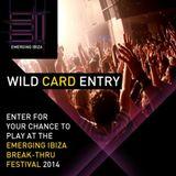 Emerging Ibiza 2014 DJ Competition - Diego Pérez