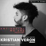 Antisocial Podcast - Sabado 10 Dic. Kristian Veron