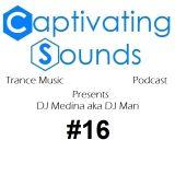 Captivating Sounds Episode 016 on AH.FM (30-04-2014)