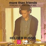 Podcast 07 - Exclusive Mix - Helder Russo - Outubro 2014