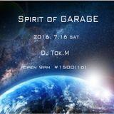 2016. 7.16 _Spirit of GARAGE_#1 Dj Tok.M @TheHAKATAsapporo