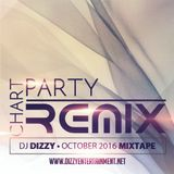 DJ Dizzy - Chart Party Remix: October 2016 (Mixtape)
