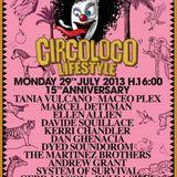 System Of Survival @ Circoloco - DC-10 Ibiza (29-07-2013)