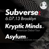 I.N.I presents SBVRS03 - Kryptic Minds and Asylum promo mix