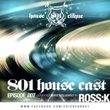 801 Housecast Vol. 7 Mixed by ROSS K