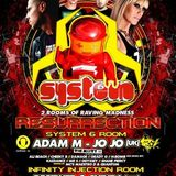 SYSTEM 6 - Adam M - Adelaide System 6 Resurrection June 2013 at The City Nightclub