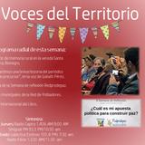 VOCES DEL TERRITORIO ABRIL 21 2016