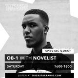 OB-1 with Novelist on Trickstar Radio (10th March 2018)