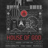 House Of God  Opening Party  03.10.2014