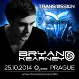 Bryan Kearney - Transmission 2014 Live Broadcast on AH.FM 25-10-2014