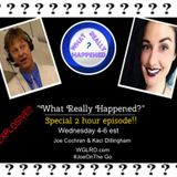 Joe Cochran and Kaci Dillingham on WGLRO Radio with special guest Ginnie Perry  What really happen