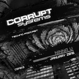 Ninna V - Corrupt Systems Techno Podcast - January 2016