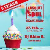 Absolut Soul Show /// 27.02.2019 on SOULPOWERfm