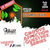 Groove Affection Guest Mix Series Vol. 55 | DJ Chris Lewis NYC