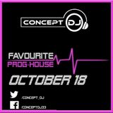 Concept - Favourite Prog-House October 18 (05-10-2018)