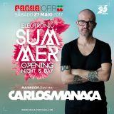 Carlos Manaça LIVE @ Pacha (Ofir) May 27th |Portugal