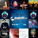 DEEPINSIDE RADIO SHOW 102 (Louie Vega Artist of the week)