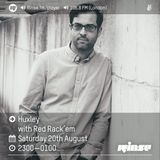 Rinse FM show w/ Red Rack'em 20th August 2016