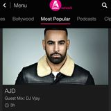 BBC Asian Network - DJ Vjay's Urban Desi Mix on DJ AJD's show (October 2019)
