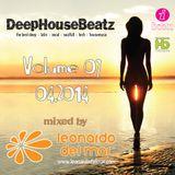 DeepHouseBeatz Volume 07 ( 04.2014 ) by Leonardo del Mar