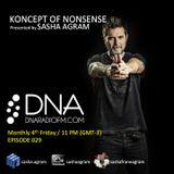 Koncept of Nonsense Episode 029 presented by Sasha Agram