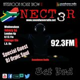 SWR Afternoon House Show with Nect3r 9-3-18 Special Guest DJ Orphic Soul