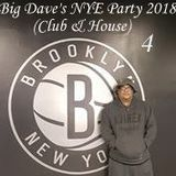 Big Dave's NYE Party 2018 CD4 (House/Club)