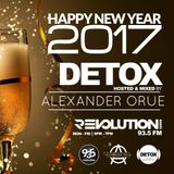 Detox Revolution Radio Miami 93.5 End Of The Year Mix PT.2 Recoded Live on 12/30/16
