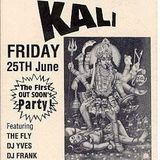 """Yves De Ruyter (part 1) at """"Kali - The First Out Soon Party"""" @ Cherry Moon (Lokeren) - 25 June 1993"""